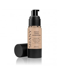 SHANY Perfect Canvas Liquid Foundation, Paraben/Talc/Oil Free, MC2, 1 Ounce