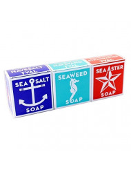 Swedish Dream 3 Pack Mix Set (Sea Salt + Seaweed + Sea Aster) Soap Bar 4.3oz USA