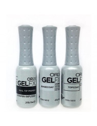 Orly Gel Fx Top Coat, Base Coat, Primer Kit for Nails .3 oz., Value Pack