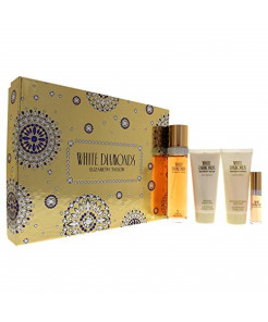 Elizabeth Taylor 4 Piece White Diamonds Fragrance Gift Set for Women