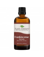 Plant Therapy Frankincense Serrata Essential Oil 100% Pure, Undiluted, Natural Aromatherapy, Therapeutic Grade 100 mL (3.3 oz)