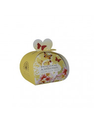 THE ENGLISH SOAP COMPANY LUXURY GUEST SOAPS 2.0 oz / 60g WHITE JASMINE & SANDALWOOD by The English Soap Company for Women
