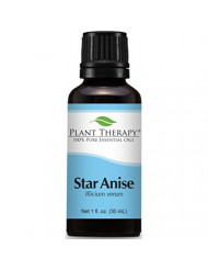 Plant Therapy Star Anise Essential Oil 30 mL (1 oz) 100% Pure, Undiluted, Therapeutic Grade