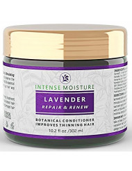 Hair Loss Conditioner Lavender - Cypress Intensive Repair For Weak Thinning Hair - Lab Formulated - Postpartum / Alopecia / DHT Bocking 10.2 Oz