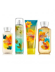 Wild Honeysuckle Gift Set Signature Collection - Bath & Body Works - Body Lotion - Fragrance Mist - Body Cream & Shower Gel Full Size
