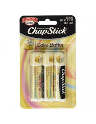 ChapStick Limited Edition Cupcake Creations Cake Batter, 3 Count