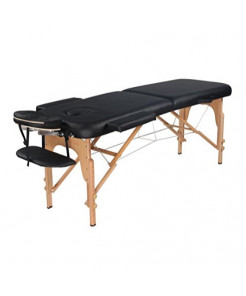 Heaven Massage Ultra lightweight Portable Massage Table - Fits in almost every trunk! Perfect for on the go.. HMTS-Black