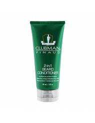 Clubman Pinaud 2-in-1 Beard Conditioner and Face Moisturizer, 3 oz