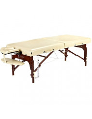 Master Massage Saxon LX Therma Top Memory Foam Portable Massage Table Package, 30 Inch