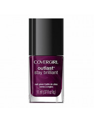 COVERGIRL Outlast Stay Brilliant Nail Gloss Fuchsia Flame 45, .37 oz (packaging may vary)