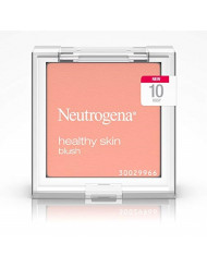 Neutrogena Healthy Skin Powder Blush Makeup Palette, Illuminating Pigmented Blush with Vitamin C and Botanical Conditioners for Blendable, Buildable Application, 10 Rosy,.19 oz