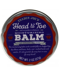 Trader Joe's Head to Toe Moisturizing Balm and Beard Balm