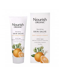 Nourish Organic Skin Salve, Sweet Orange & Rose Hip, 3 Ounce
