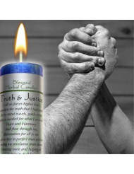 Coventry Creations Truth and Justice Blessed Herbal Candle