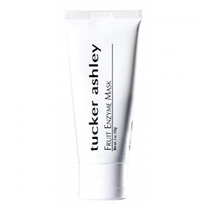 tucker ashley Fruit Enzyme Mask, All Natural Skin Detox Peel, Contains Fruit Enzymes,Gentle Exfoliator, Good for Sensitive Skin, 2oz
