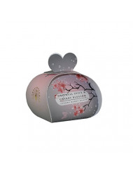 The English Soap Company Luxury Guest Soaps for Women, Oriental Spice & Cherry Blossom, 2.0 Ounce