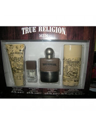 True Religion 4 Piece Fragrance Set for Men