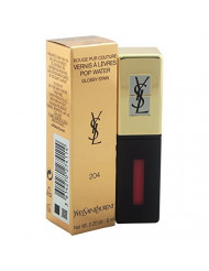 Yves Saint Laurent Vernis Rouge Pur Couture Pop Water Onde Rose # 204, 0.20 Ounce