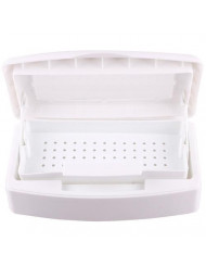 TR.OD New useful Pro Sterilizer Tray Box Nail Art Salon Sterilizing Tool