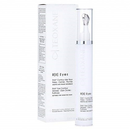 Teoxane Cosmeceuticals Best Hyaluronic Acid Eye Contour - Instant Firm, Anti-Dark Circles, Anti Puffiness, Anti Wrinkle,Anti-Aging, Intense Hydration,Moisture - 15 milliliter