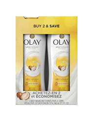 Olay Ultra Moisture Body Wash with Shea Butter for Extra-Dry, Dry, Dull or Rough Skin - 16 Fl Oz, Pack of 2