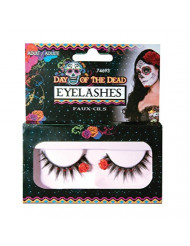 Forum Women's Day of The Dead Eyelashes One Size Multi