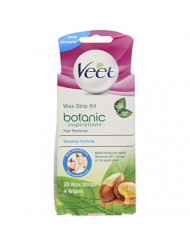 Veet Ready To Use Wax Strip Kit 20's(Bikini-Underarm-Face)