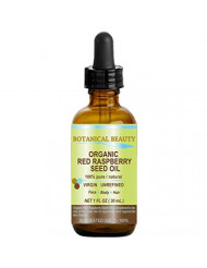"RED RASPBERRY SEED OIL ORGANIC. 100% Pure / Natural / Undiluted / Virgin / Unrefined Cold Pressed Carrier Oil. 1 Fl.oz.-30 ml. For Skin, Hair, Lip and Nail Care. ""One of the highest anti-oxidant, rich in vitamin A and E, Omega 3, 6 and 9 Essential Fatty"