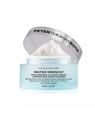Peter Thomas Roth Water Drench Hyaluronic Cloud Cream Hydrating Moisturizer, 1.7 Fl Oz/ 50 ml