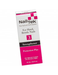 Nail Tek Treatments Protection Plus 3, For Hard and Brittle Nails