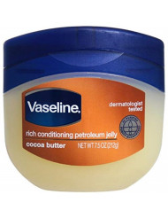 Vaseline Petroleum Jelly 7.5 Ounce Cocoa Butter (212g) (3 Pack)