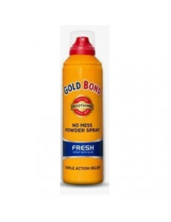Gold Bond No Mess Powder Spray with Aloe, Fresh, 4 Count