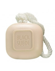 Soap-on-a-Rope (Black Suede)