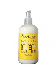 Shea Moisture Raw Shea Chamomile & Argan Oil Baby Lotion 13 oz (Pack of 4)