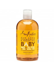 Shea Moisture Body Wash/Shamp,Raw Shea, 4 Pack, 12 Ounces