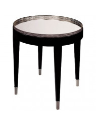 Sterling Elk Lighting Black Tie Accent Table, 26""