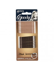 Goody WoMens Colour Collection Bobby Pins SPH, Brunette, 48 Count
