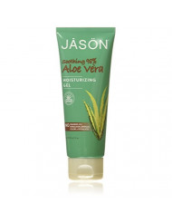 JASON Soothing 98% Aloe Vera Moisturizing Gel (IASC Certified), 4 Ounce Tube
