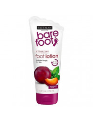 Freeman Bare Foot Smooth + Nourished Skin, Peppermint & Plum 5.30 oz (Pack of 2)