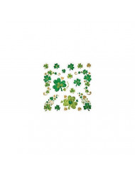 Amscan St. Patrick's Day Shamrock Glitter Body Jewelry, 17 Ct. , Party Accessory