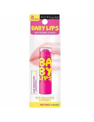 Maybelline Baby Lips Moisturizing Lip Balm 25 Pink Punch 0.15 oz (Pack of 2)