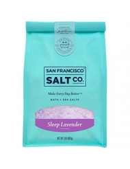 Sleep Lavender Bath Salts - 2 lb. Luxury Gift Bag by San Francisco Salt Company