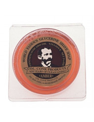 Col. Ichabod Conk Men's Amber Shaving Soap Shave Bar Sm by Colonel Conk