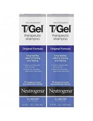 Neutrogena T/Gel Therapeutic Shampoo Original Formula 4.40 oz ( Pack of 2)