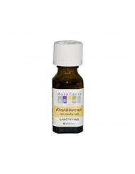 Aura Cacia Frankincense in Jojoba Oil - .5 oz - pack of - 1