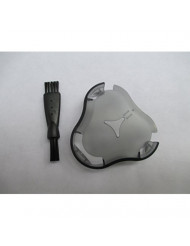 Replacement Shaver Head Protection Cap Guard & Cleaning Brush for Philips Norelco RQ11 RQ12