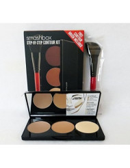 Smashbox Step-by-Step Contour Kit, Medium/Dark, 0.4 Ounce