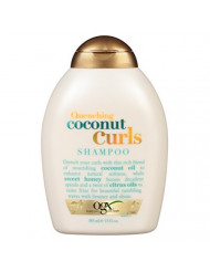 Ogx Shampoo Coconut Curls 13 Ounce (384ml) (3 Pack)