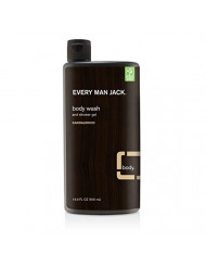Every Man Jack - Body Wash & Shower Gel Sandalwood - 16.9 Oz