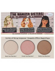 theBalm The Manizer Sisters Palette, Multi-Tasking Highlighters, Shimmers, & Shadows